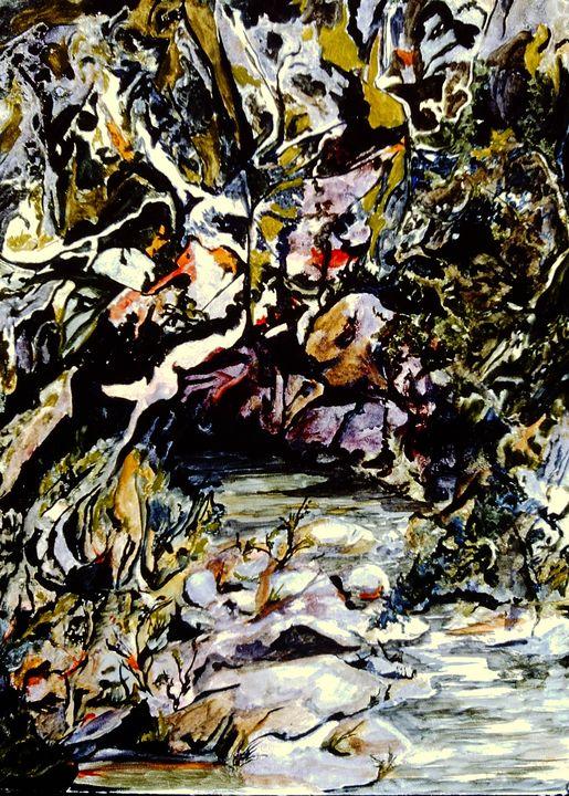 Heken's Creek - Paintings by Jennifer Redman Wadsworth
