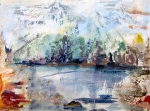 Mountain Lake - Paintings by Jennifer Redman Wadsworth
