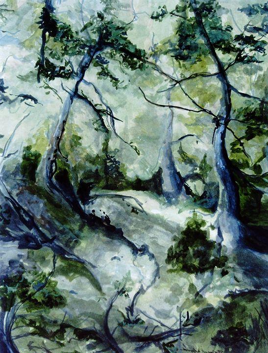 Reid Path - Paintings by Jennifer Redman Wadsworth