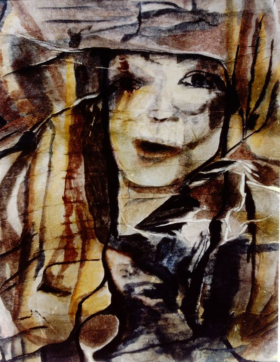 Michele - Paintings by Jennifer Redman Wadsworth