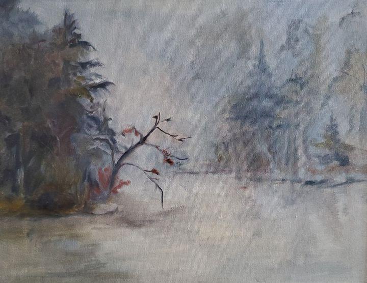 Misty River - Paintings by Jennifer Redman Wadsworth