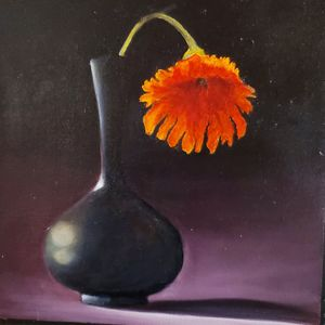The Black Vase - Paintings by Jennifer Redman Wadsworth