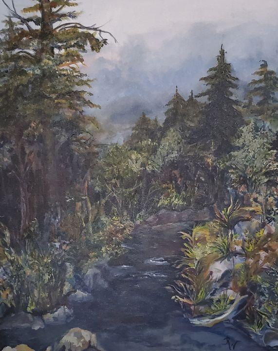 Magic Brook - Paintings by Jennifer Redman Wadsworth