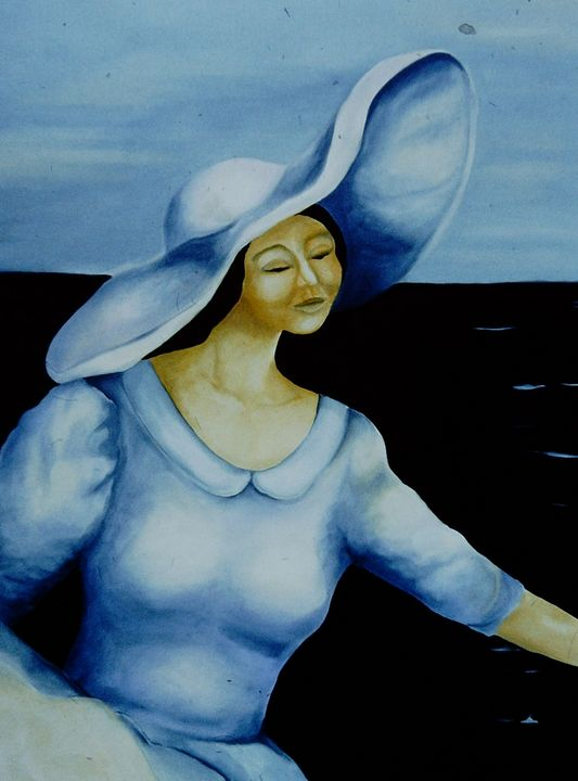 A Study in Blue - Paintings by Jennifer Redman Wadsworth