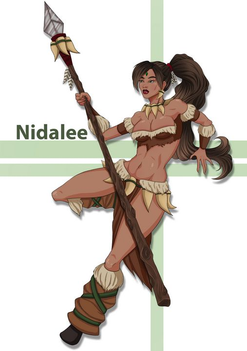 Nidalee Fan Art - Serise's Portofolio