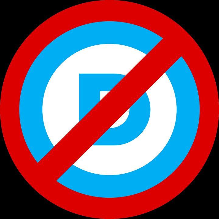 Democracts Banned - Lincoln Bone Political Art