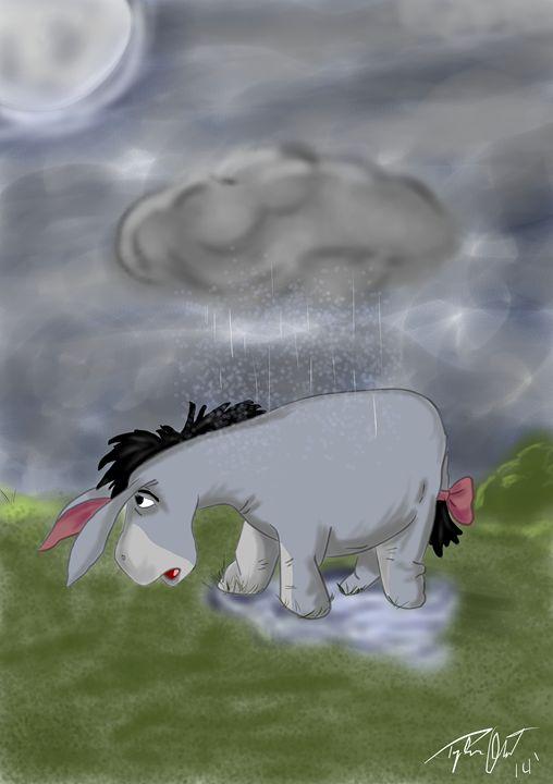 Sad Day Eeyore - Och-ART