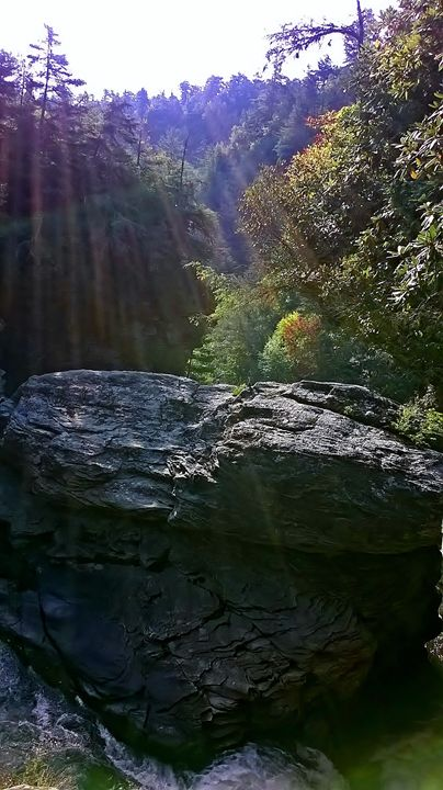 Linville Gorge 2 - Art by Kim