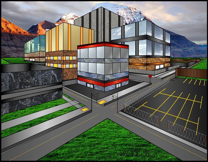 3D City 3 - Stuart Smeltzerzer