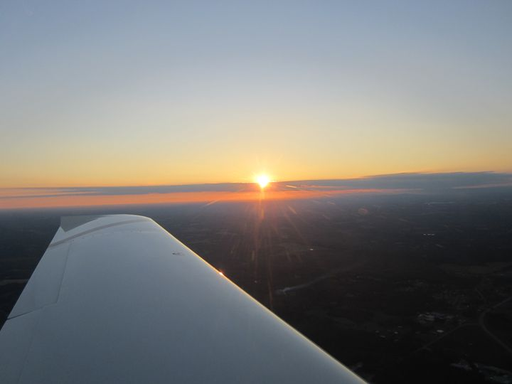 Sunrise from a Airplane - Phil