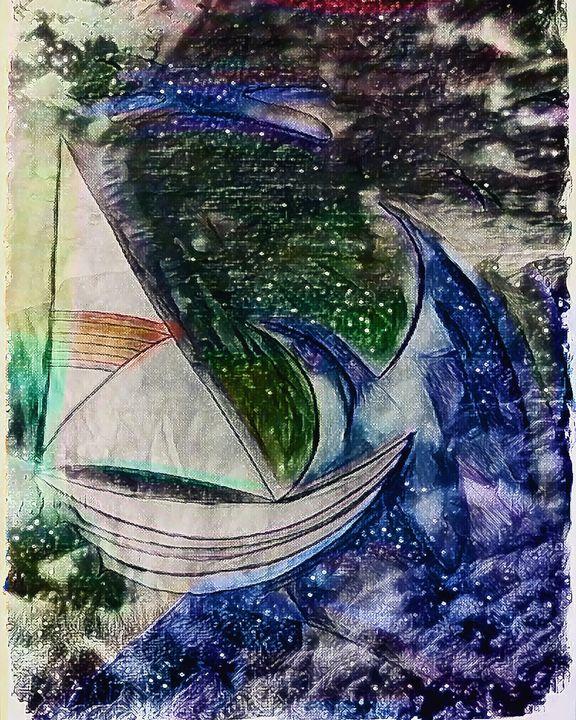 Stormy seas - Malynda
