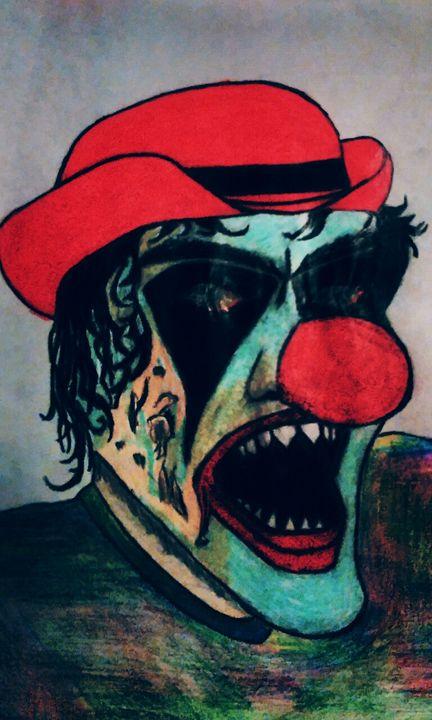 wicked clown - A.K.