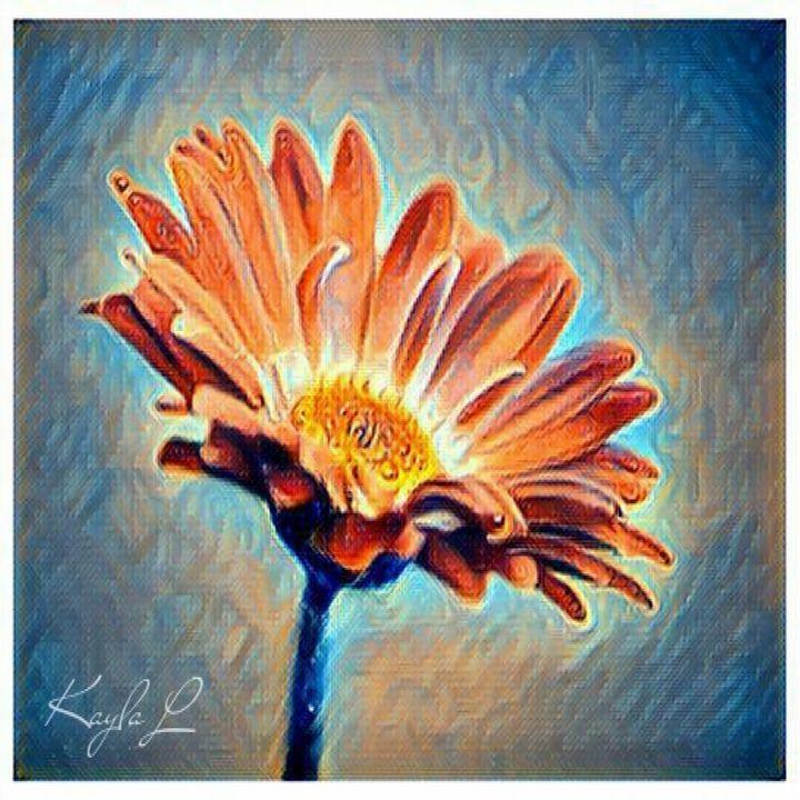 Flower In The Wind - Kayla Gallery