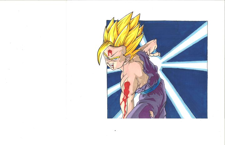 Teen Gohan - Vane's Art
