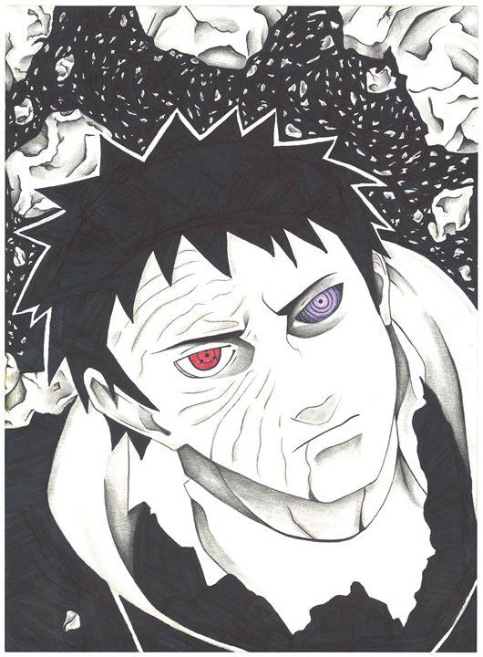 Obito Uchiha - Vane's Art