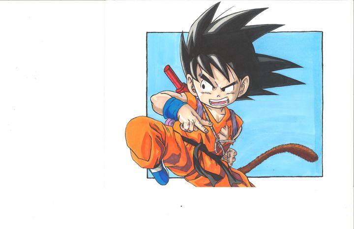 Goku - Vane's Art