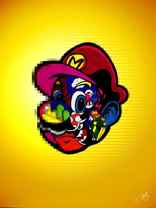 Surface of Mario - Jonathan Sierra