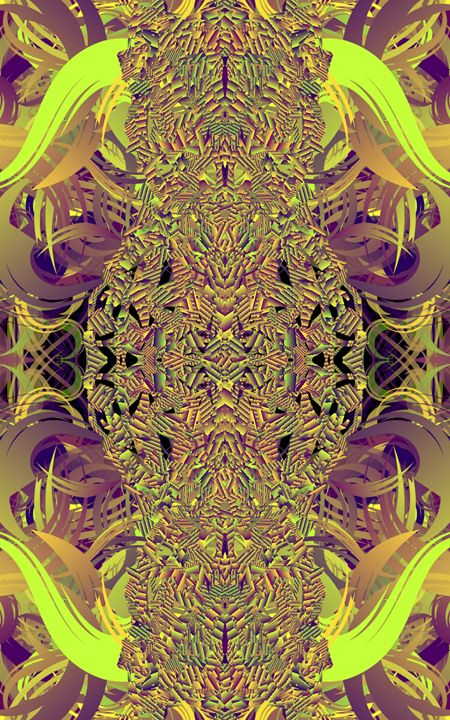 Purple and yellow hello - CMT  GRAVITY  DESIGNS