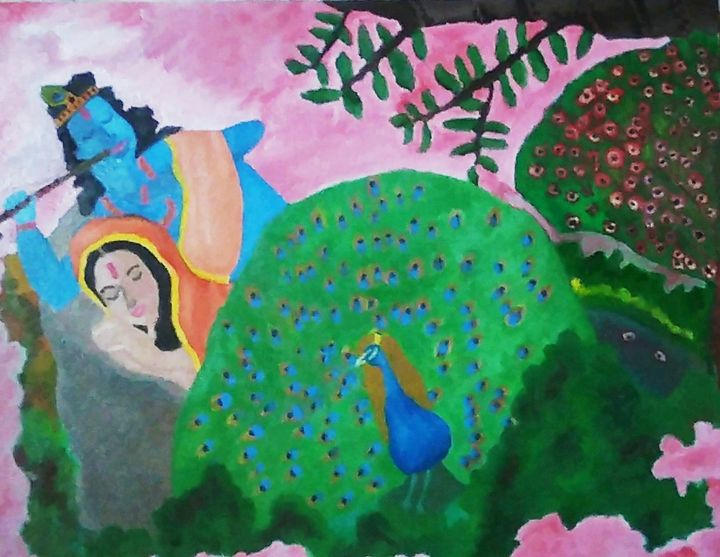Radha Krishna - Lifecolors