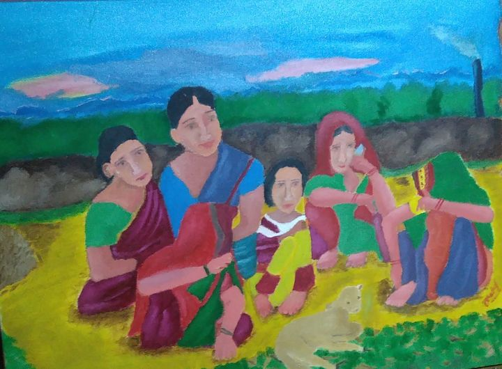 Peace Of Village - Lifecolors