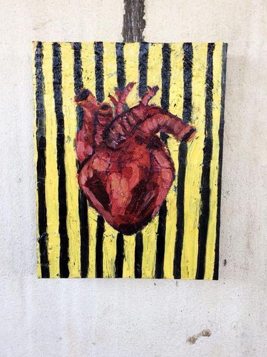 Locked Heart - KristiKobaliaArt