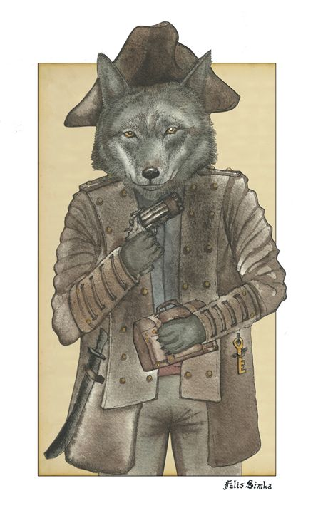 Pirate Wolf - Felis Simha