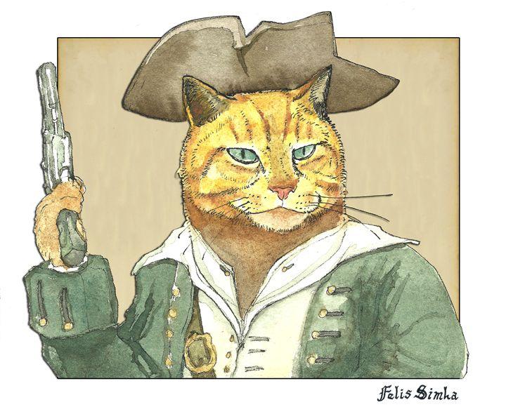 Pirate Orange - Felis Simha