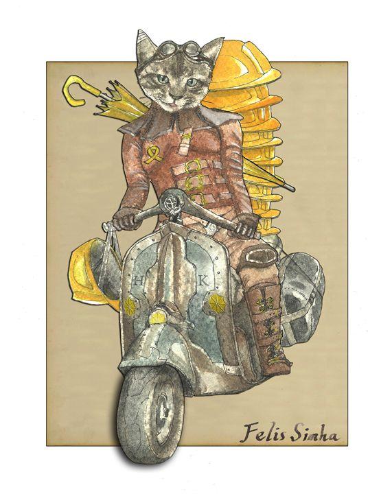 Moto Cat - Felis Simha