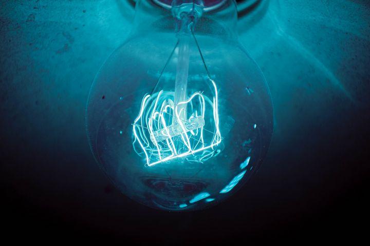 Blue Bulb Edit - NV Designs - ARTboi