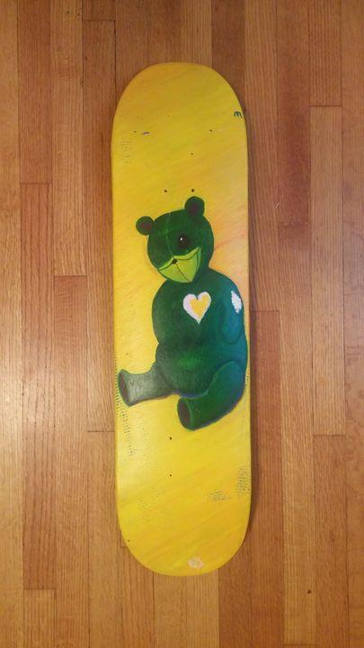 Melancholy Teddybear - Bridget Erin Gamble