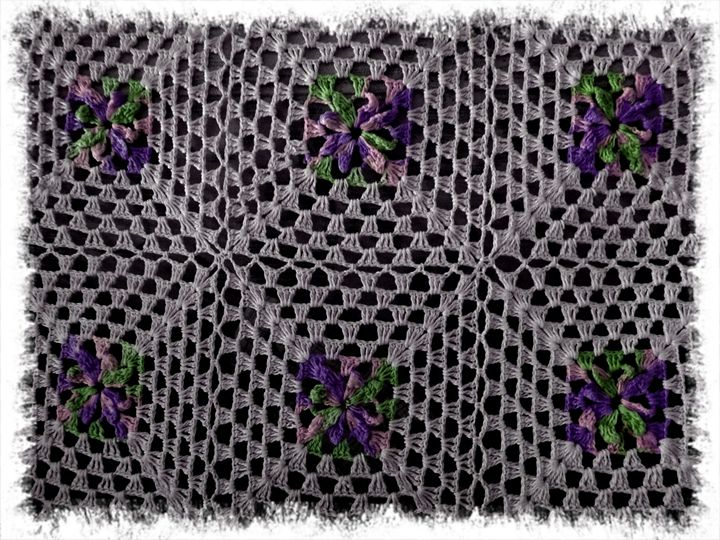 Background or texture - Crochet - CLA