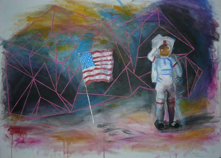 Moon landing - Csorba Szabi