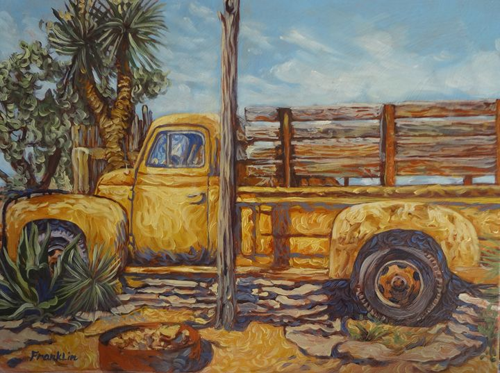Old Yellow Truck 1 - Dewey Franklin