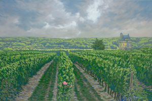 Vinyard near Chinon - Dewey Franklin