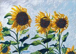 Little Sunflowers - Dewey Franklin
