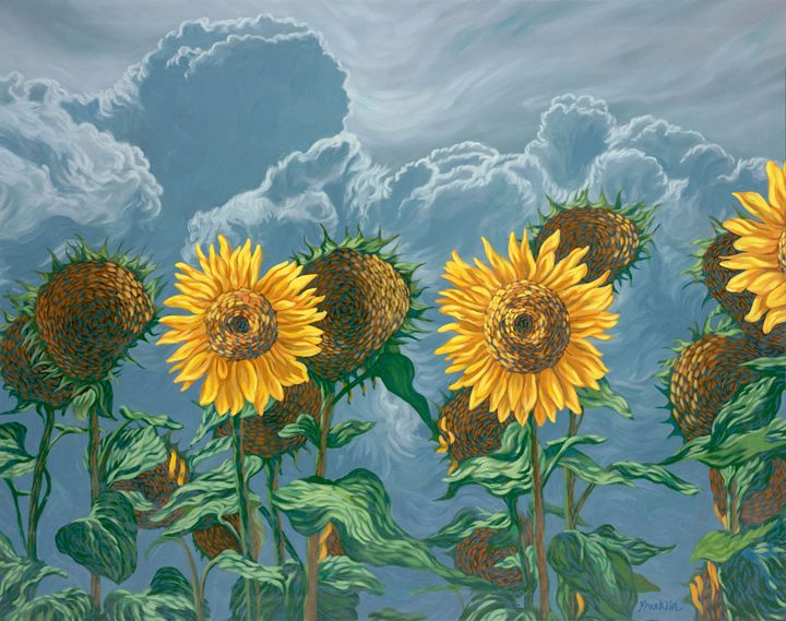 Sunflowers 4 - Dewey Franklin