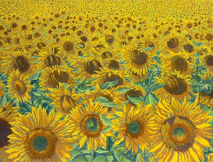 Sunflowers - Dewey Franklin