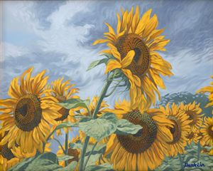 Sunflowers 5 - Dewey Franklin