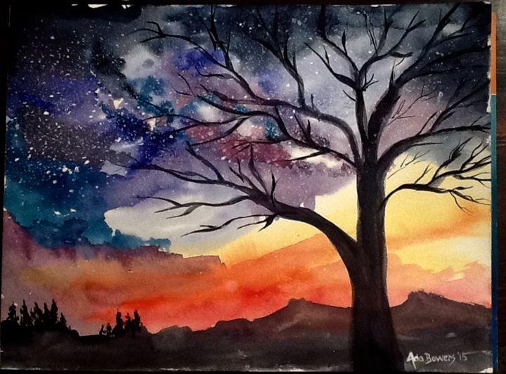 Winter Sunset - Ada's Art