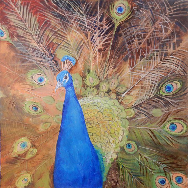 Peacock - Joy Parks Coats Art