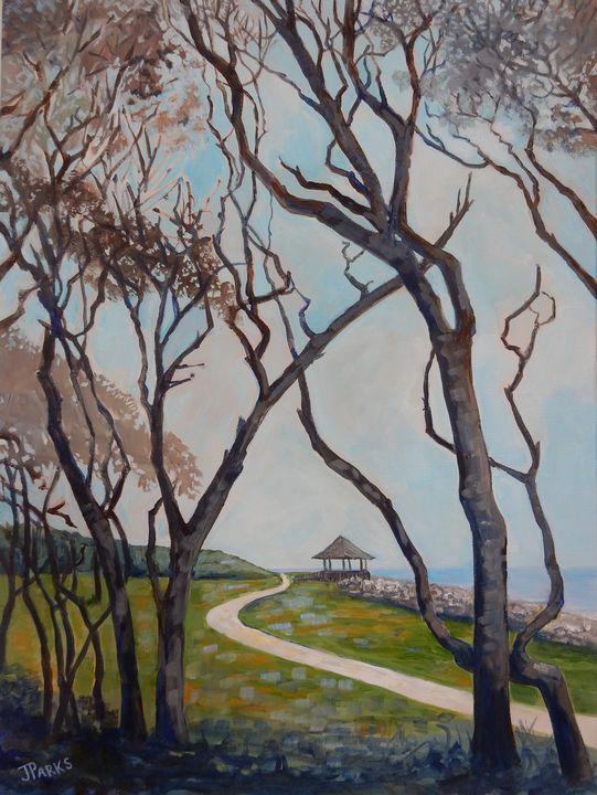 Fort Fisher Trees - Joy Parks Coats Art
