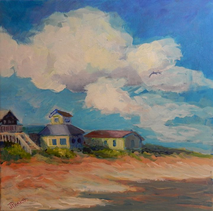 Topsail Tides - Joy Parks Coats Art