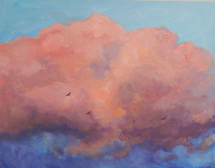 Cloudscape 2 - Joy Parks Coats Art