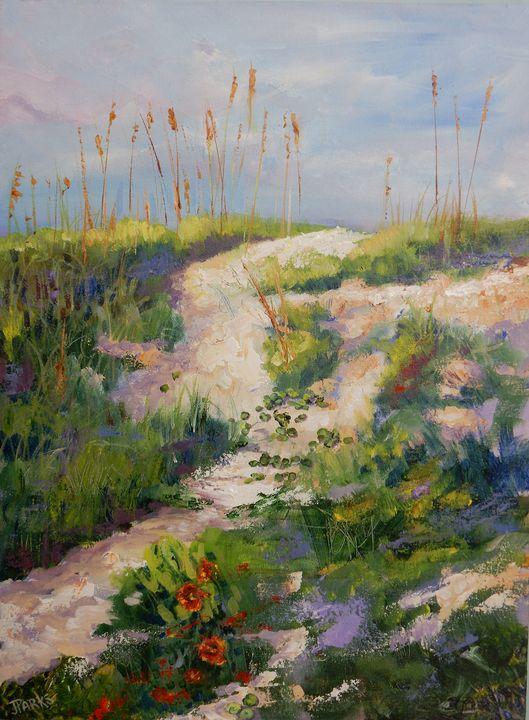 Where the Dollarweed Grows - Joy Parks Coats Art