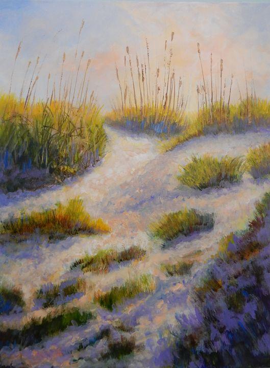 Morning on the Dunes - Joy Parks Coats Art