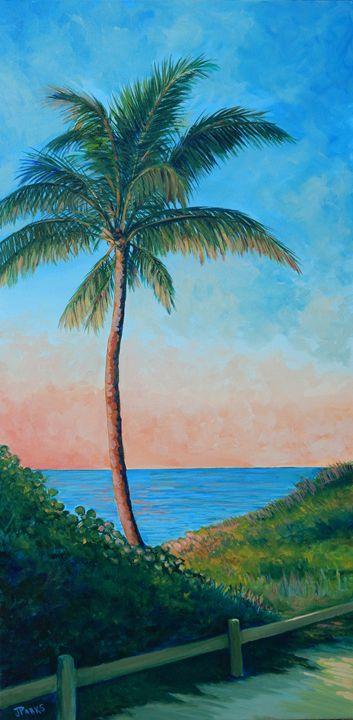Palm on Jupiter - Joy Parks Coats Art