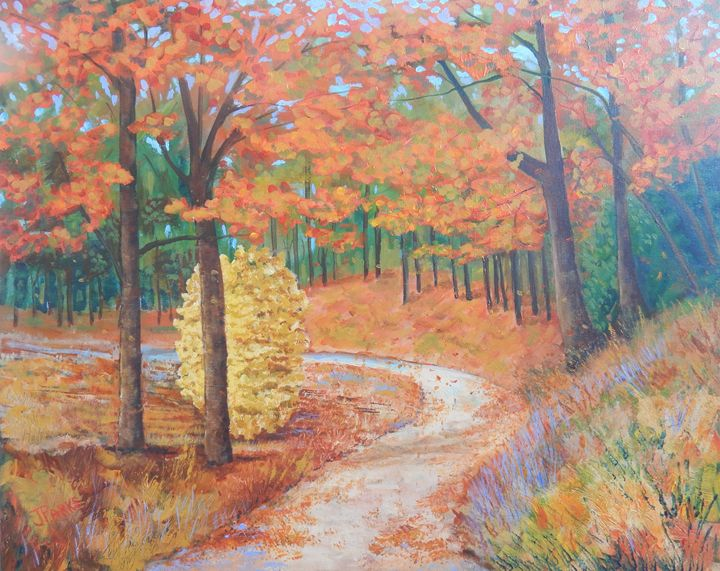 Expressions of Autumn - Joy Parks Coats Art