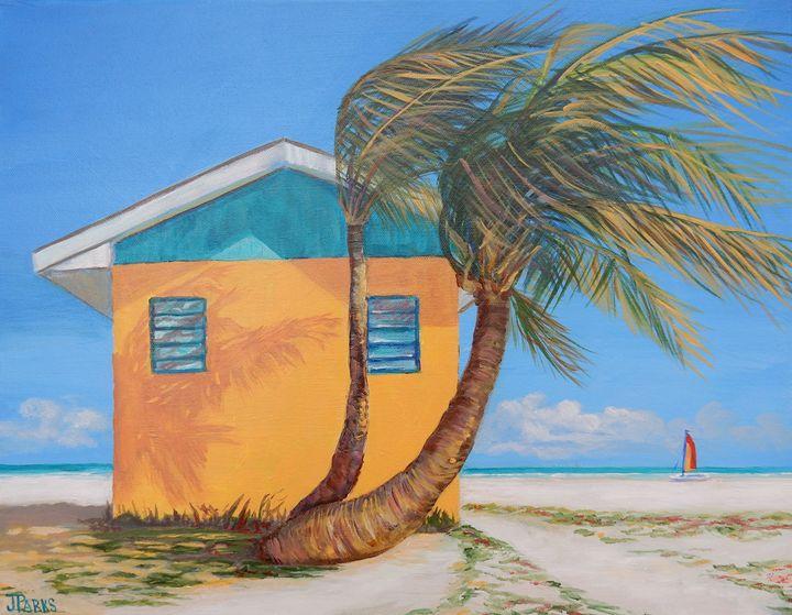 Bahama Breeze - Joy Parks Coats Art