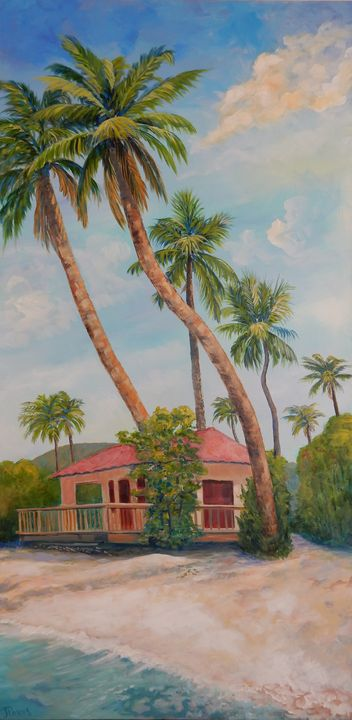 Maho Bay - St. John #2 (before Irma) - Joy Parks Coats Art
