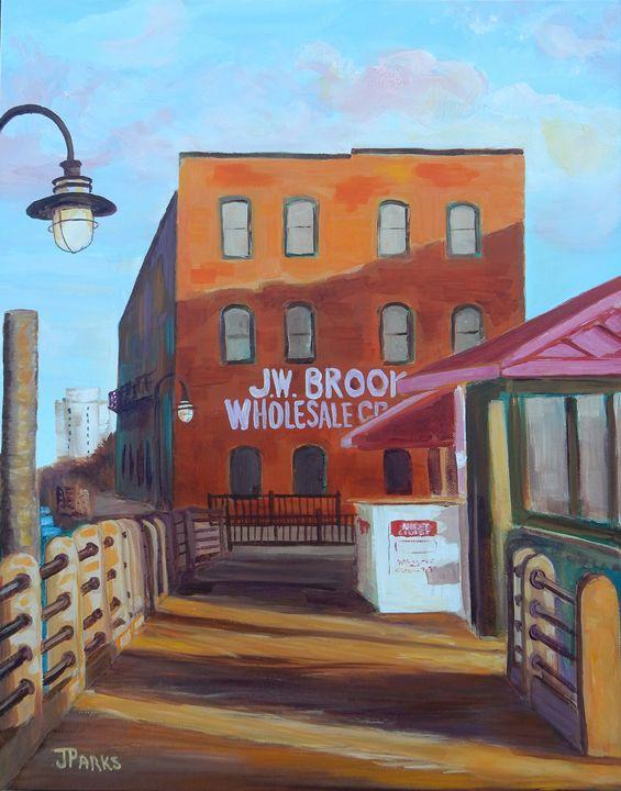 Downtown Wilmington - Joy Parks Coats Art